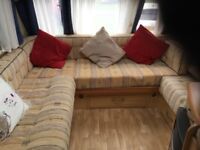 Sterling Eccles Emarald 2004 4 berth caravan with awning and accessories