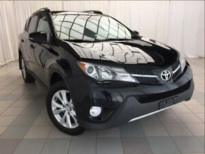 2013 Toyota RAV4 Limited: 1 Owner, Nav, Brakes Serviced.