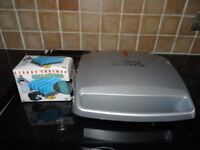GEORGE FOREMAN FOUR PORTION GRILL & MELT 13622 IN VGC