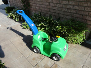 Little Tikes Green Toddlers Push Car - decent Shape