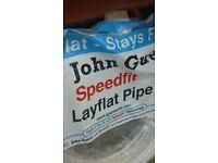 22mm layflat pipe coil speedfit.