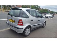 Beautiful low mileage A class mersedes automatic 1397c in mint condition.11 months MOT