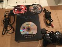 Sony PlayStation 2 console and games