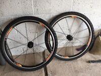 "Bikehut 26"" MTB disc brake wheels"