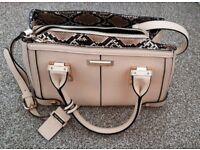 River Island cream handbag