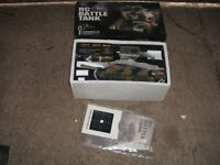 Radio control battle tank fires pellets ready to use great item