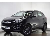HYUNDAI IX35 2.0 CRDI SE 5d AUTO 134 BHP (black) 2013
