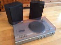 Phillips vintage stereo sound system