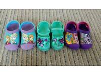 Girls Crocs Sandals Shoes £5 each