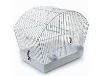 ALPINE 2021 BUDGIE/FINCH/CANARY CAGE WHITE NEW