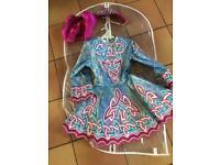 6-8 year old Irish dancing dress