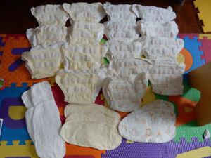 Lot de couches lavables en cotton