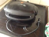 George Foreman Grill with drip tray