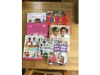 Kids cookery books