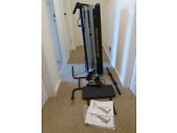 Total Trainer folding home gym. Advanced Model TT2000 with side pulley upgrade.