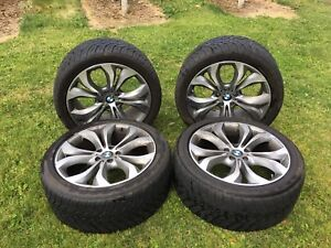 BMW X5 2012  Rims and tires