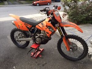 2006 KTM 250 SXF - New Top End. Reduced. $2900