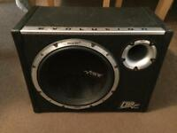 Evolution 1600wats sub and Amp