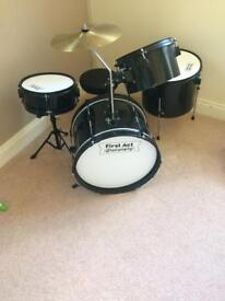 Price Drop!! Child's drum kit.