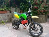 For sale or swap 50cc mini pit bike