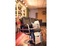 Chair for RENT at busy barber shop LARNE