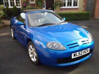 MG TF 1.8 2003 Trophy blue