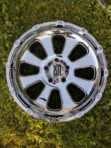 XD Armour Wheels 20 x 9 Chrome