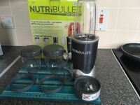 Nutribullet 600, in original box, nearly new condition