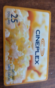 sell cineplex card, contain $15.99