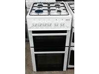 Y318 white beko 50cm gas cooker comes with warranty can be delivered or collected