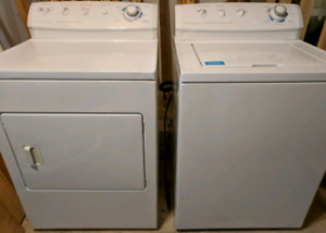 Frigidaire Gallery Top Load Washer and Front Load Dryer