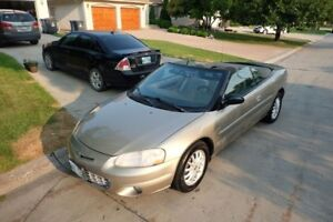 2002 Chrysler Sebring LXi Coupe (2 door)