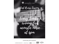 New acoustic live music nights paid gigs, looking for singer/songwriters to perform in London Bridge