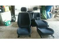 Vauxhall interior seats front back & headrests