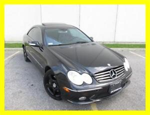 2005 MERCEDES BENZ CLK500 *LEATHER,SUNROOF,LOW KM!!!*