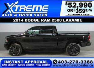 2014 DODGE RAM LARAMIE DIESEL *INSTANT APPROVAL $0 DOWN $359/BW!