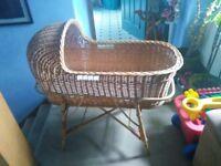 Alco Basketware baby crib