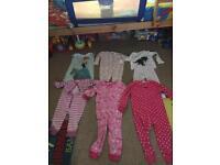 Girls pj bundle age 3-4
