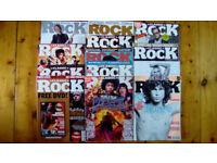 Classic Rock Magazine 13 Issues from 2004 - 2013 MAGAZINES ONLY NO CD's