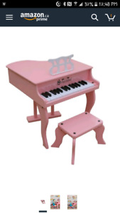 Brand new in box pink piano