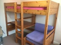 For Sale - Stompa Highsleeper Bed