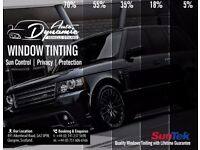 **VEHICLE WINDOW TINTING OFFER!!** | REAR WINDOW TINTS FROM £99.99.. | SUNTEK FILMS - BOOK IN NOW!!