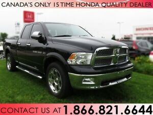 2012 Ram 1500 LARAMIE 4x4 QUAD CAB | NO ACCIDENTS | 1 OWNER | BE
