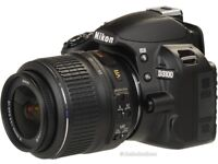 Digital camera - Nikon D3100 SLR Camera + 18-55 lens.
