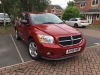 Dodge Caliber 2006 Red Diesel 81k MOT Until Aug 2018
