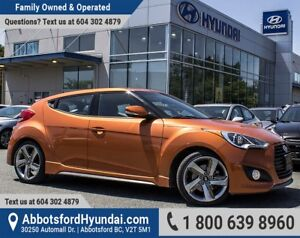 2014 Hyundai Veloster Turbo ACCIDENT FREE & BC OWNED