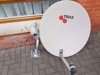 satellite dish & Android K1 DVB-S2