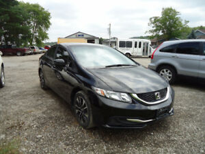 2014 Honda Civic, camera, alloys, touch button start, sunroof