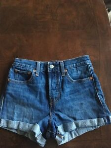 Levi's red tab jean shorts