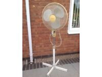 Fan freestanding